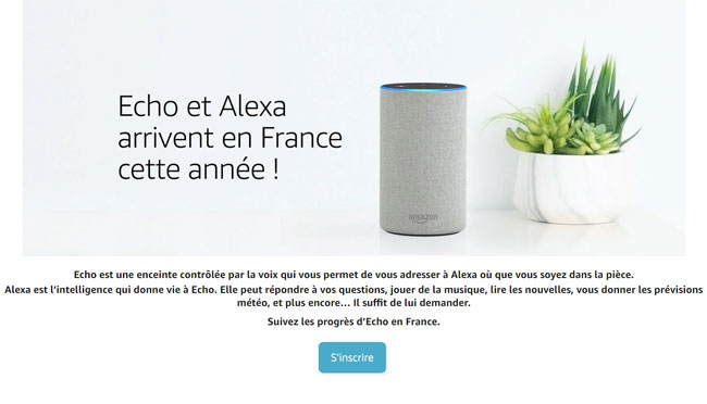 Amazon Echo avec IA Alexa