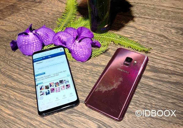 Galaxy S9 notre prise en main en vidéo