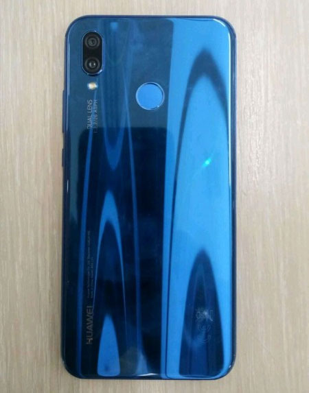 Huawei P20 Lite version bleue