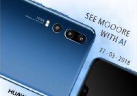 Huawei P20 3 capteurs photos dans des teasers vidéo