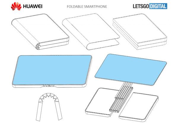 Huawei smartphone écran pliable avec écran ordinateur