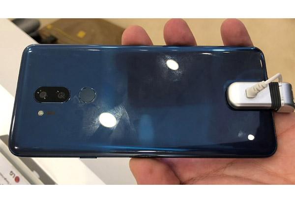 LG G7 dévoilé en privé au MWC 2018
