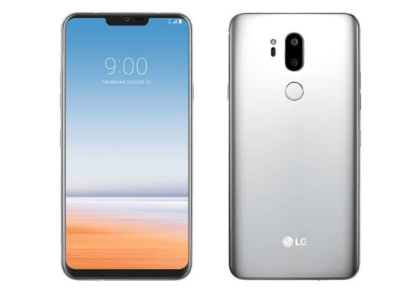 LG G7 l'encoche peut être cachée