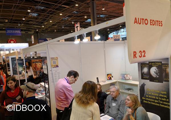 Livre Paris 2018 phénomène auteurs auto édités
