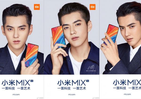 Xiaomi Mi Mix 2s pas d'encoche