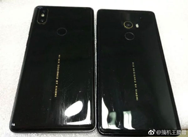 Xiaomi Mi Mix 2S IA pour la photo