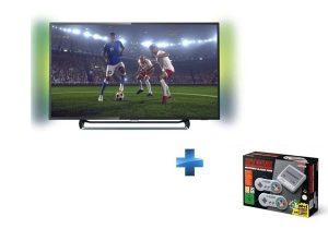 Bon Plan TV Philips 4K plus console Super Nintendo Mini