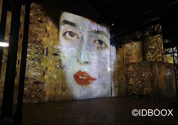 l'aterlier des lumieres Klimt