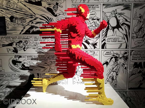 Exposition The Art of the Brick : DC Super Heroes