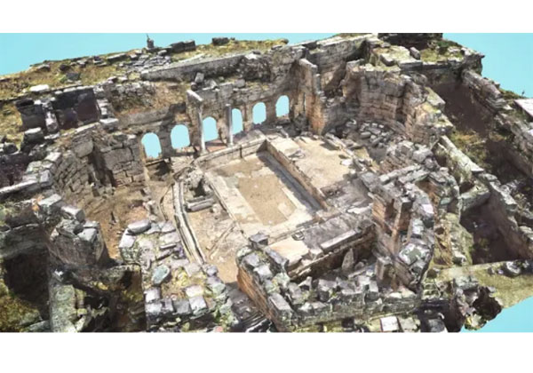 Google Open Heritage sites menacés en 3D