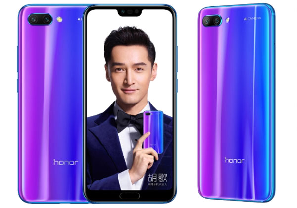 Honor 10 nouvelle couleur twilight