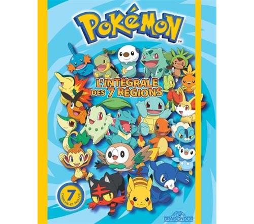 Pokemon l'intégrale des 7 régions