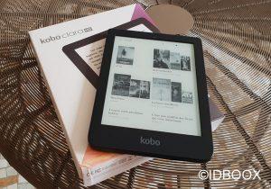 Kobo Clara HD test nouvelle liseuse e-ink