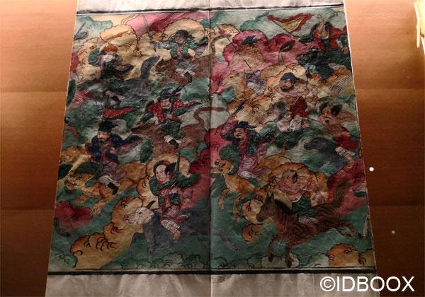 Expo Caractères d'Asie Musée Guimet