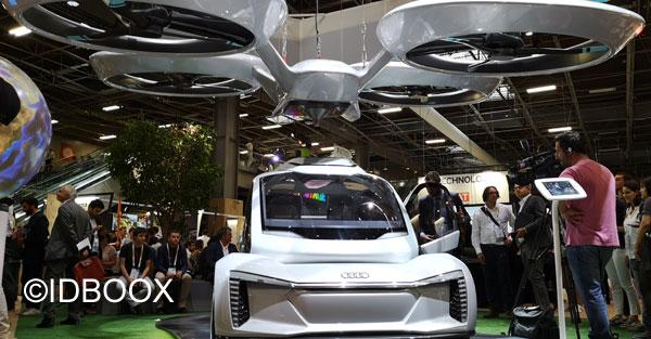 Voiture volante Audi et Airbus