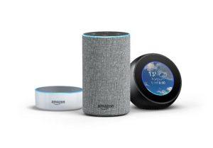 assistant vocal Amazon echo dot spot alexa