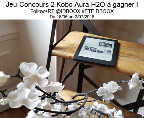 Kobo Aura H2O jeu concours