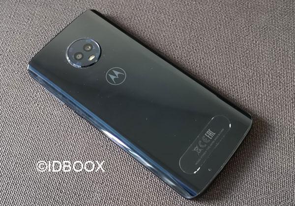 Motorola Moto G6 dos en verre