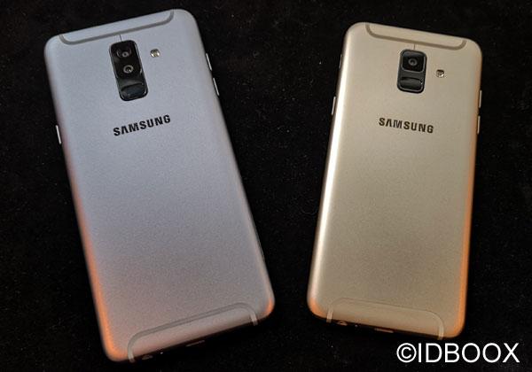SAmsung Galaxy A6 2018 prise en main