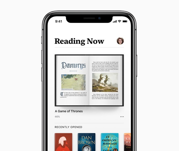 apple books ebooks ios12 2018