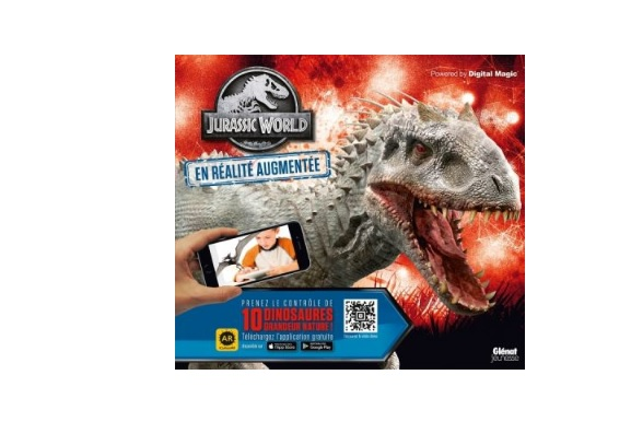 jurassic world the fallen kingdom livre