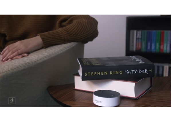 stephen king library alexa amazon google