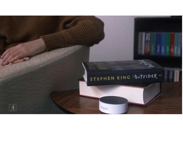 stephen king library alexa amazon google