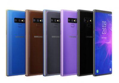 Galaxy Note 9 se dévoile avant le 9 août