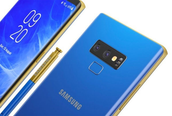 Galaxy Note 9 les prix en fuite