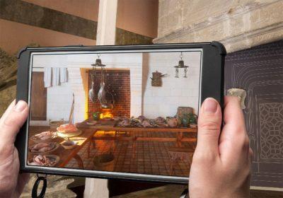 Huawei Réalité augmentée au château de Blois