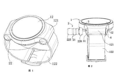 Huawei Watch 3 avec des écouteurs Bluetooth intégrés