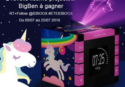 Jeu-concours BigBen réveils Licorne