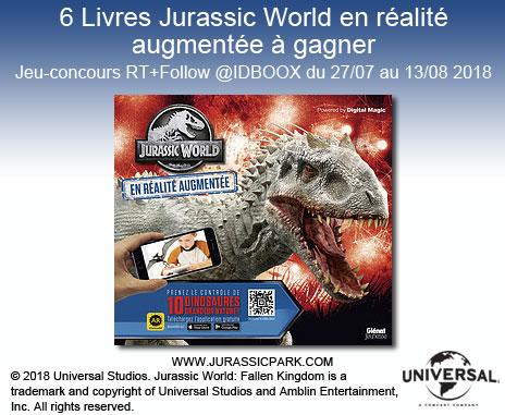 Jurassic World Jeu Glénat