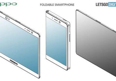 Oppo brevet smartphone écran pliable