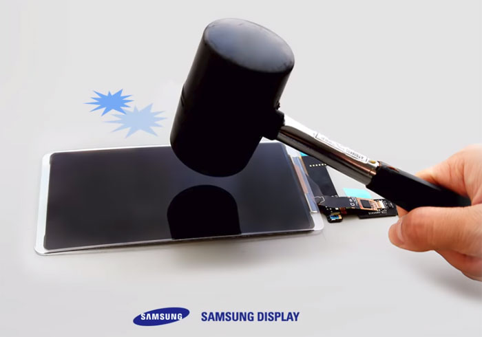 Samsung un écran flexible incassable