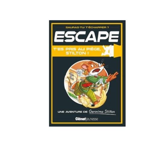 escape book livre enfants