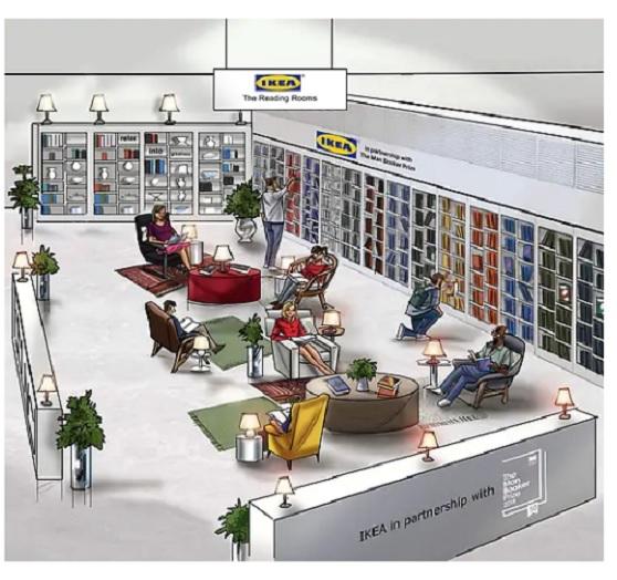 ikea salon de lecture