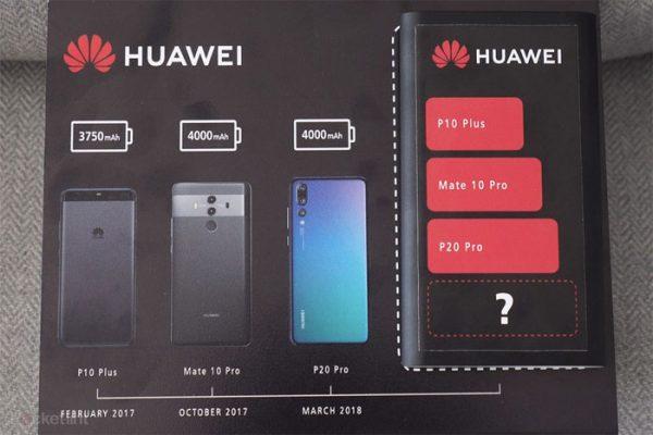 Huawei Mate 20 Pro avec un écran QHD+