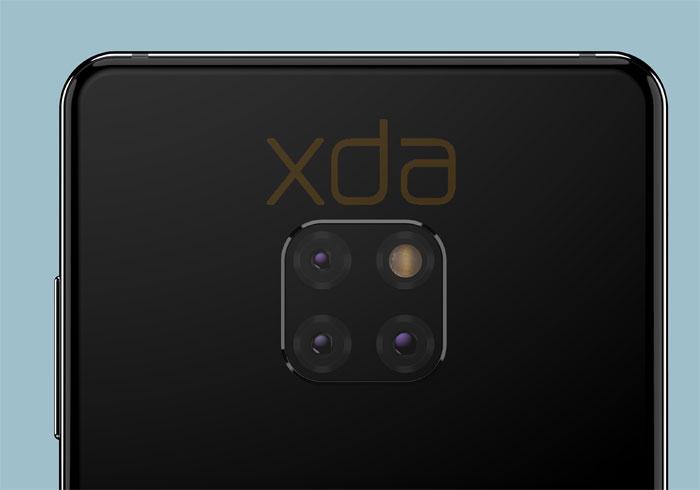 Huawei Mate 20 l'ensemble de sa fiche technique en fuite
