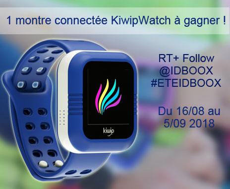 montre connectée KiwipWatch