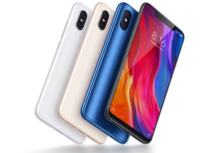 Xiaomi Mi 8 officiel en France