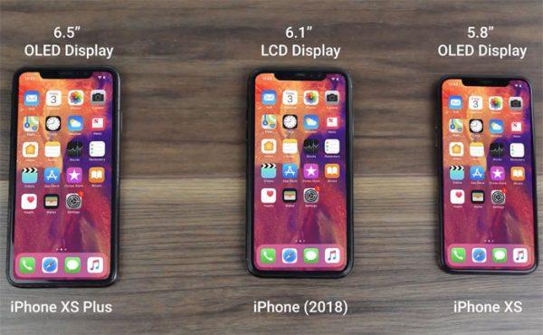 iPhone Xs n'aura pas de capteur d'empreintes sous l'écran