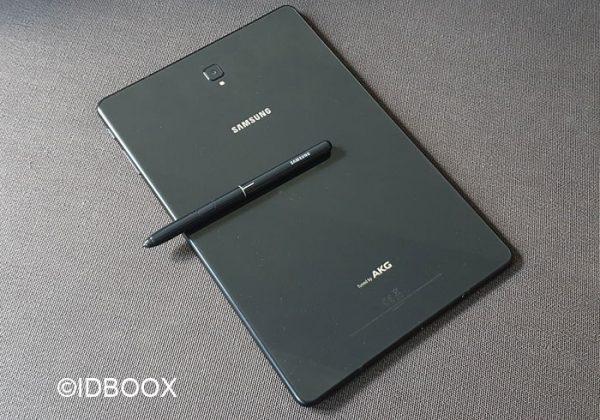 Galaxy Tab S4 pas de lecteur d'empreintes