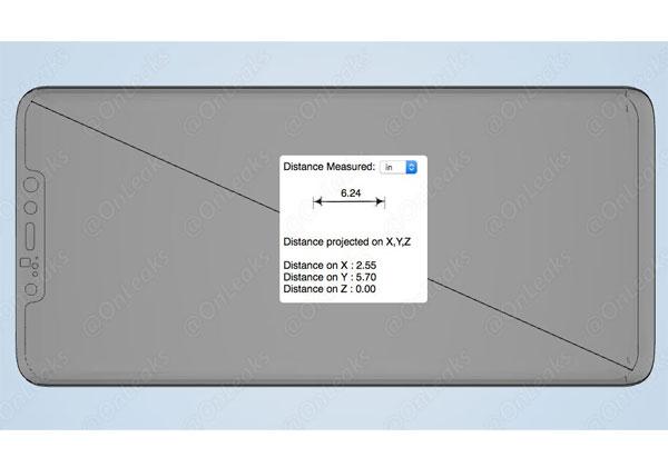 Huawei Mate 20 Pro schéma