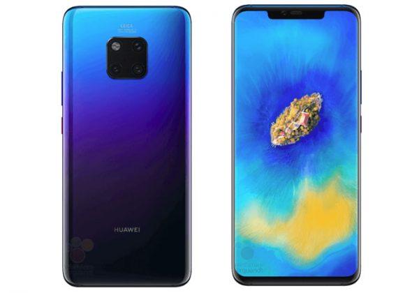 Huawei Mate 20 Pro les prix ont fuités