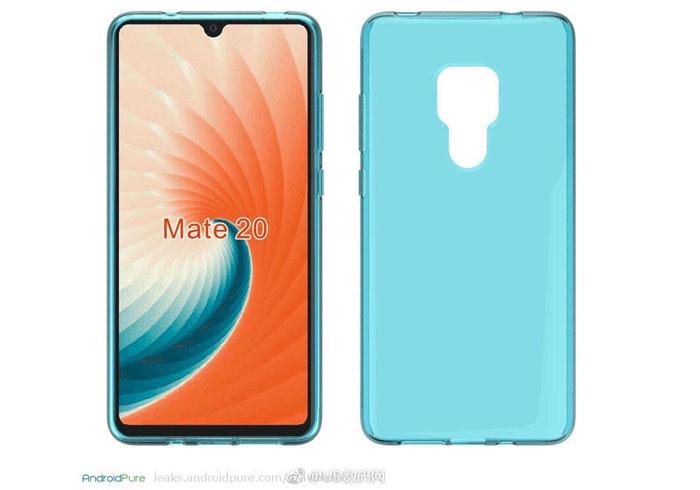 Huawei Mate 20 Pro des nouveaux visuels 3D