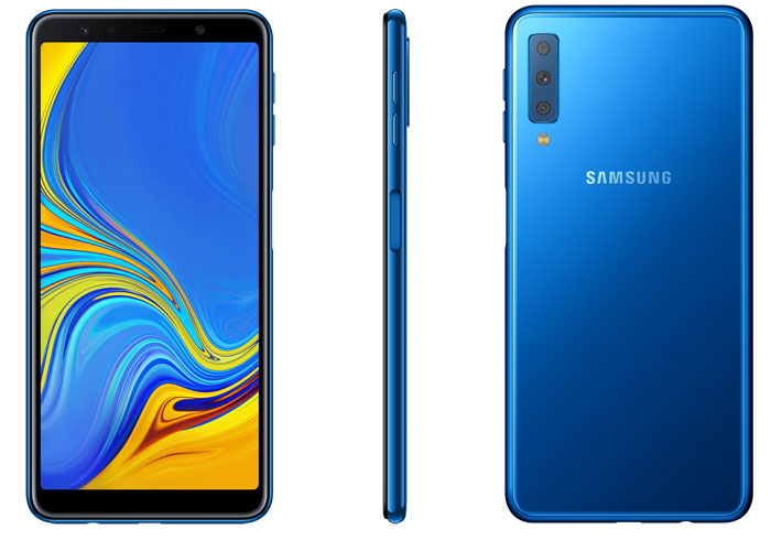 Samsung Galaxy A7 avec 3 caméras est officiel