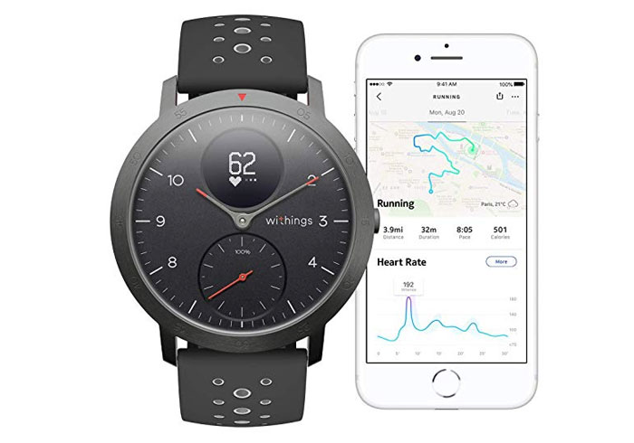 Withings Steel HR Sport le retour de la marque