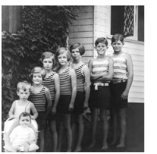 archives photos famille Kennedy JFK