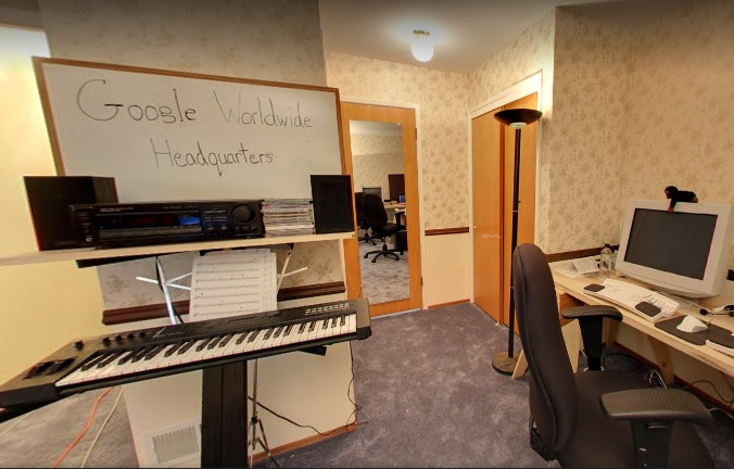 Google ans u visite du garage bureau sur street view idboox